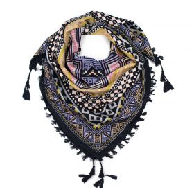 ArtOfPolo Aztécký šátek 115cm Žlutý