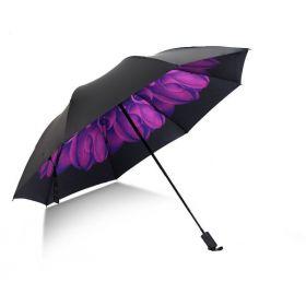 Dámský skládací deštník Gerbera