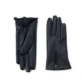 ArtOfPolo dámské rukavice se zipem z ekokůže