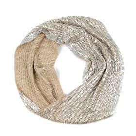 ArtOfPolo kruhový pletený šál komín Postříbren