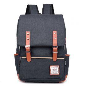 RETRO Textilní batoh Mein Černý