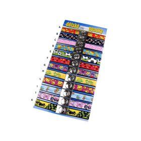 Dětský pásek s obrázkovým motivem 3cm