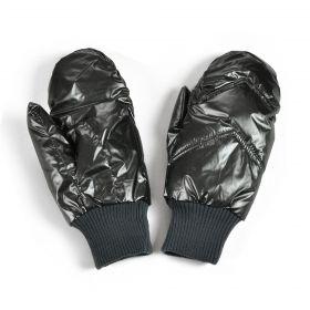 Dámské palčáky rukavice metalické šedé