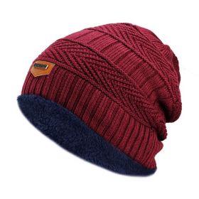 Rendt pánská zimní čepice Červená