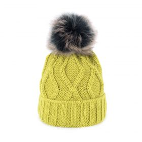 ArtOfPolo dámská zimní čepice Karo Zelená