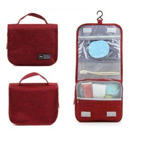 Travel organizér Toaletní taška Červená