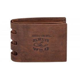 Always Wild pánská kožená peněženka Bort to be