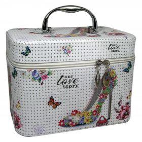 BMD kosmetický kufřík Love to Story s krystaly