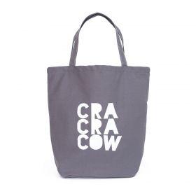 Shopper nákupní taška Cra Cra Cow šedá
