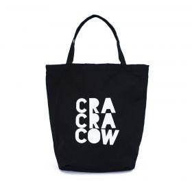 Shopper nákupní taška Cra Cra Cow Černá