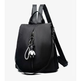 POABA elegantní batoh s myšákem Černý