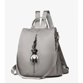 POABA elegantní batoh s myšákem Khaki
