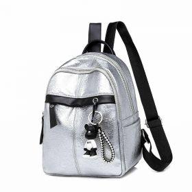 Střední batoh Easy Matching Stříbrný