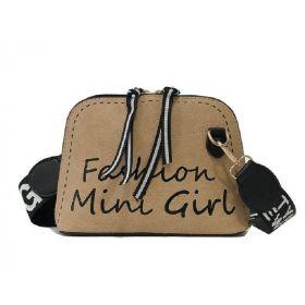 Crossbody kabelka Fashion Mini Girl Hnědá