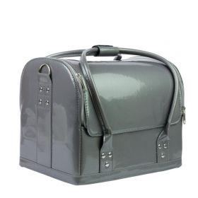 Luxusní taška pro kosmetiku MODEL 01 šedý