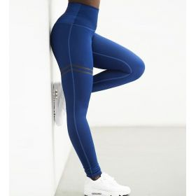 Dámské Sportovní legíny Fitness Modré