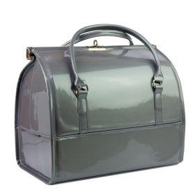 Luxusní kufřík pro kosmetiku MODEL12 Šedý