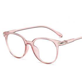 Antireflexní brýle bez dioptrii Eye-care Růžové