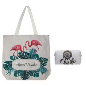 Cavaldi nákupní set s pouzdrem Tropical Paradise