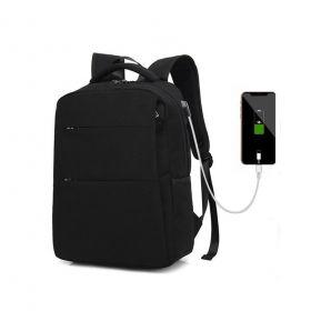 Batoh s USB a Audio portem Smart Charge - Černý