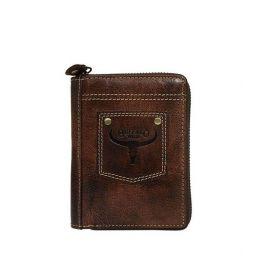 Buffalo Wild pánská kožená peněženka Rust