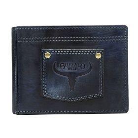 Buffalo Wild pánská kožená peněženka Navy