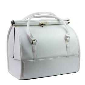 Luxusní kufřík pro kosmetiku MODEL12 Bílý