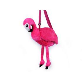 Plyšová kabelka plameňák Růžový