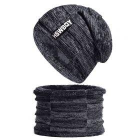 Zimní set 2v1 nákrčník a čepice HSWBOY Černý