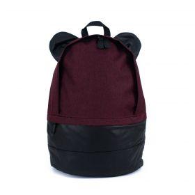 Himawari kulatý batoh s oušky NR16 Bordó