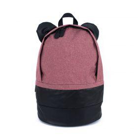 Himawari kulatý batoh s oušky NR16 Růžový