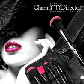 CHARM DIRECTOR Sada štětců makeup 5 kusů