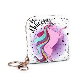 Lifestyle dámská peněženka jednorožec color