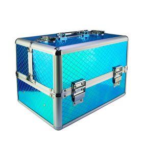 Kosmetický kufřík pro laky i led lampu Modrý