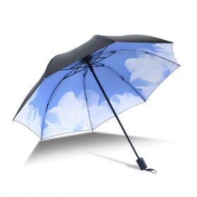 Dámský skládací deštník Lekno