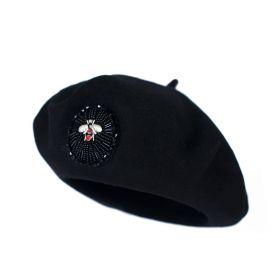 Dámský baret Little bug Černý