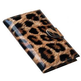 Pouzdro na cestovní pas Leopardí vzor