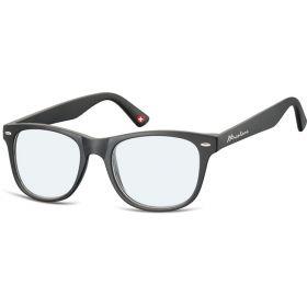 Antireflexní brýle na počítač bez dioptrii MX67 černé