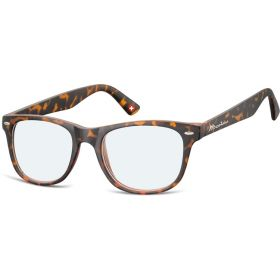 Antireflexní brýle na počítač bez dioptrii MX67A žíhané