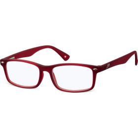 Antireflexní brýle na počítač bez dioptrii MX83B červené