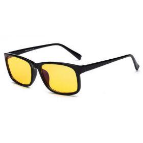 Brýle s filtrem modrého světla bez dioptrii KWE11- Černé