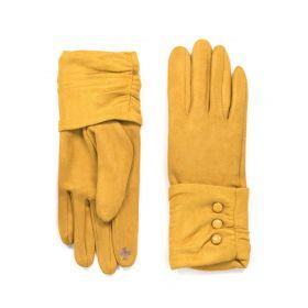 ArtOfPolo dámské rukavice Mediolan Hořčicové