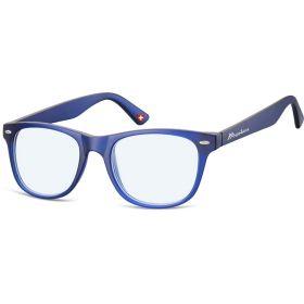 Brýle blokující modré světlona počítač bez dioptrii MX67 modré