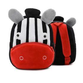 Kakoo plyšový batoh Zvířátko zebra