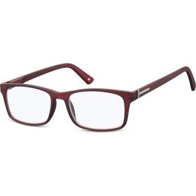 Brýle blokující modré světlo na počítač bez dioptrii MX73C červené
