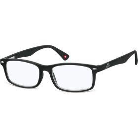 Brýle blokující modré světlo na počítač bez dioptrii MX83 Černé