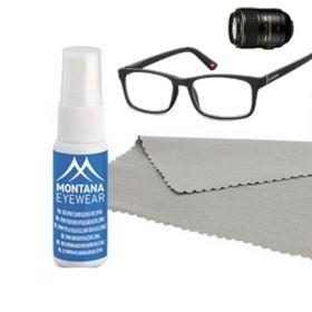 Sada na čištění brýlí- sprej a mikrouťerka 20 ml