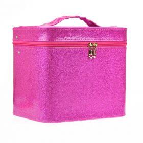 BMD kosmetický kufřík Sparkling Růžový
