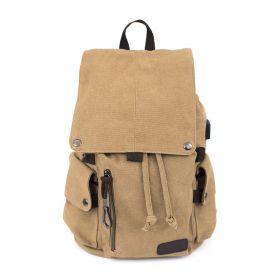 Multifunkční bavlněný batoh Adventure Hnědý