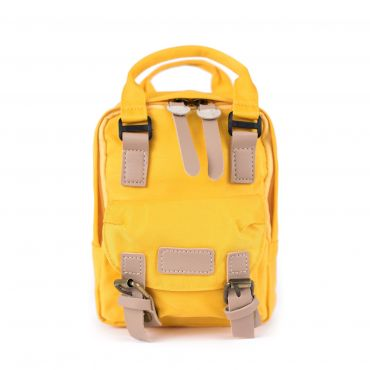 Artofpolo malý batůžek Little žlutý